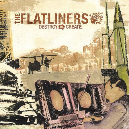 Flatliners-Destroy To Create - Skateboards Amsterdam