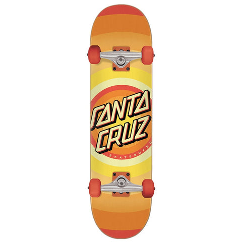 SANTA CRUZ GLEAM DOT COMPLETE ORANGE 8.0