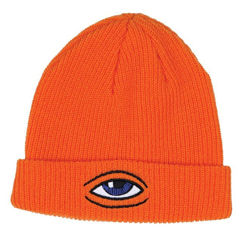 TOY MACHINE SECT EYE DOCK BEANIE ORANGE - Skateboards Amsterdam