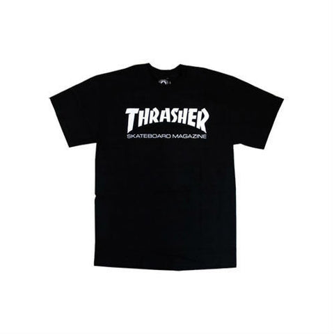 THRASHER SKATE MAG YOUTH T-SHIRT BLACK - Skateboards Amsterdam