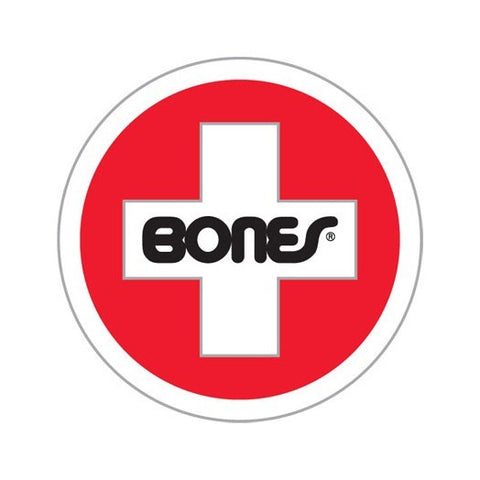BONES SWISS ROUND RAMP STICKER