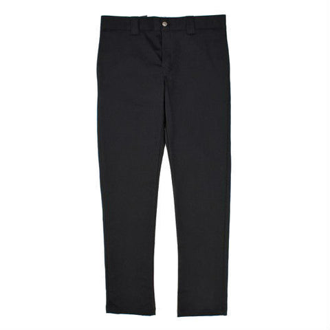DICKIES WP803 SLIM SKINNY WORK PANT BLACK - Skateboards Amsterdam - 1