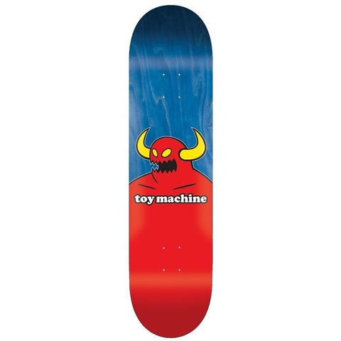 TOY MACHINE USA WOOD MONSTER BLUE 7.75