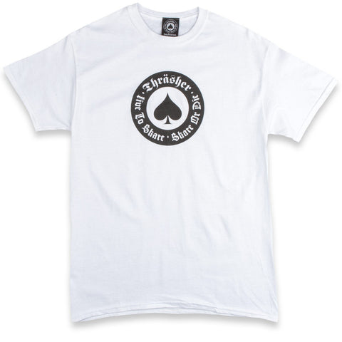 THRASHER NEW OATH T-SHIRT WHITE