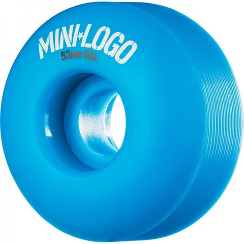 MINI LOGO C-CUT BLUE 101A 53MM