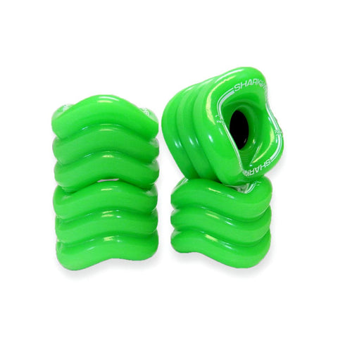 SHARK WHEELS SIDEWINDER 70MM 78A GREEN