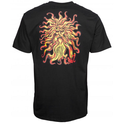 SANTA CRUZ JESSEE SUNGOD T-SHIRT BLACK