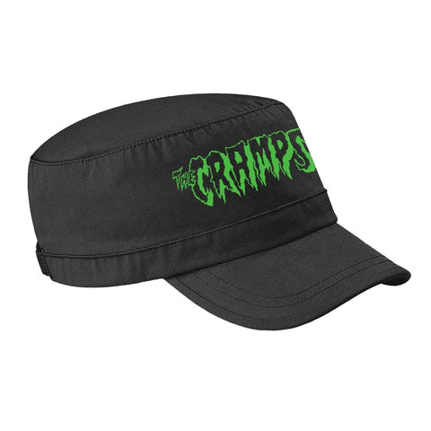 CRAMPS GREEN LOGO CAP