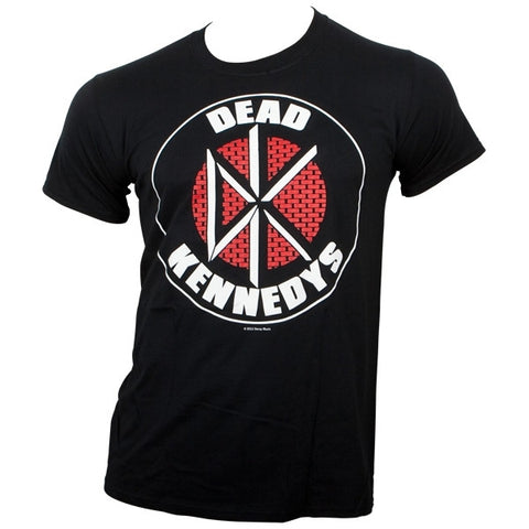 DEAD KENNEDYS LOGO- T-SHIRT BLACK - Skateboards Amsterdam