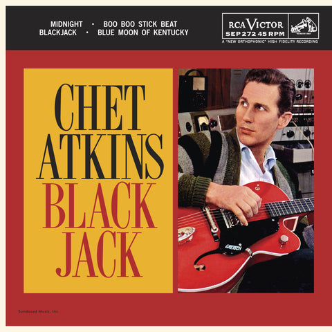 Chet Atkins-Blackjack -Ltd- RECORD STORE DAY RELEASE - Skateboards Amsterdam