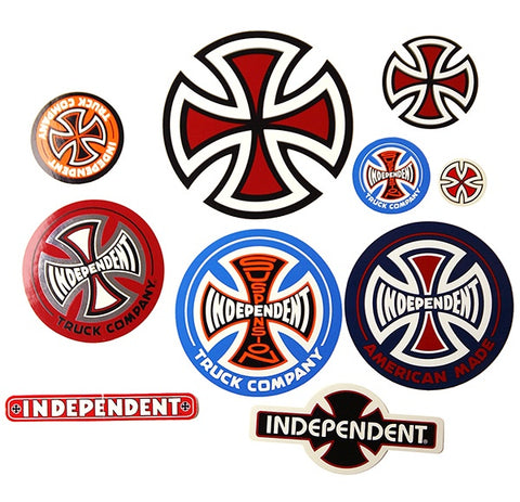 INDEPENDENT 10-STICKER PACK