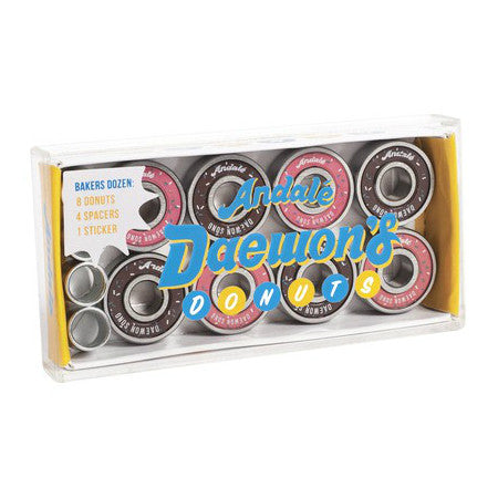 ANDALE DAEWONS DONUT BOX BEARINGS - Skateboards Amsterdam - 1