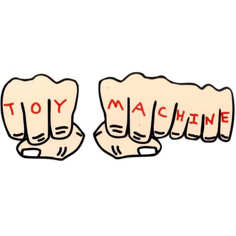 TOY MACHINE STICKER FISTS