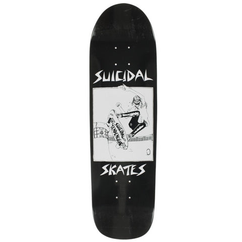 DOGTOWN SUICIDAL SKATES POOL SKATER BLACK 8.5