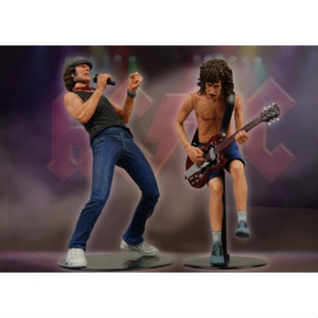 AC/DC ACTION FIGURE SET *COLLECTABLE*