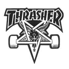 THRASHER SKATE GOAT DIE CUT STICKER - Skateboards Amsterdam - 1