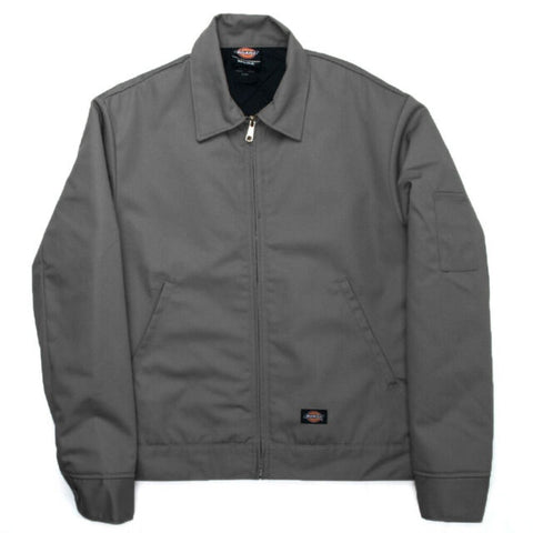 DICKIES TJ15 LINED EISENHOWER JACKET CHARCOAL