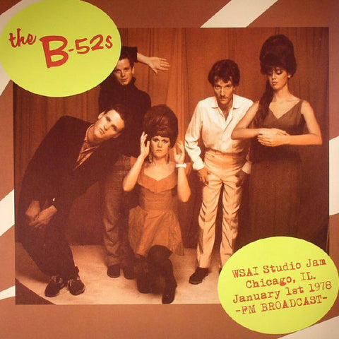B-52's-WSAI Studio Jam, Chicago, IL 1978 - Skateboards Amsterdam