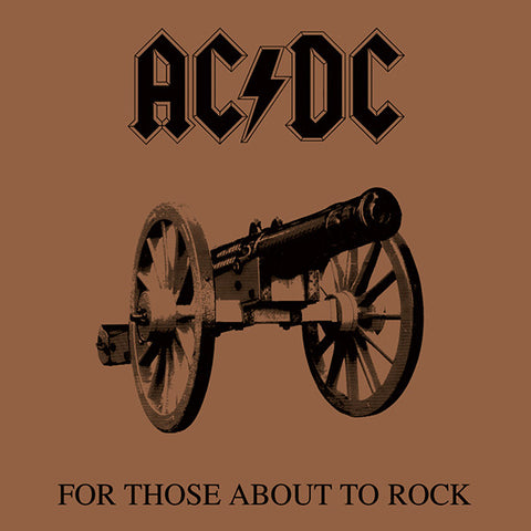 AC/DC-For Those About To Rock... - Skateboards Amsterdam - 1