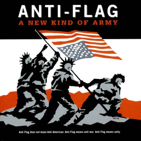 Anti-Flag-New Kind Of Army - Skateboards Amsterdam