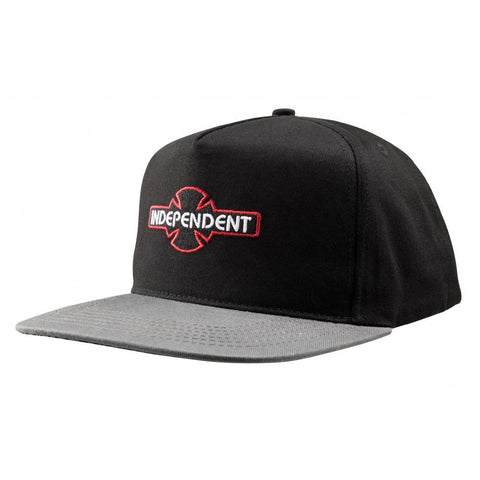 INDEPENDENT ARRAY SNAPBACK BLACK