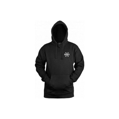BONES CROSS BONES HOODED SWEATER BLACK