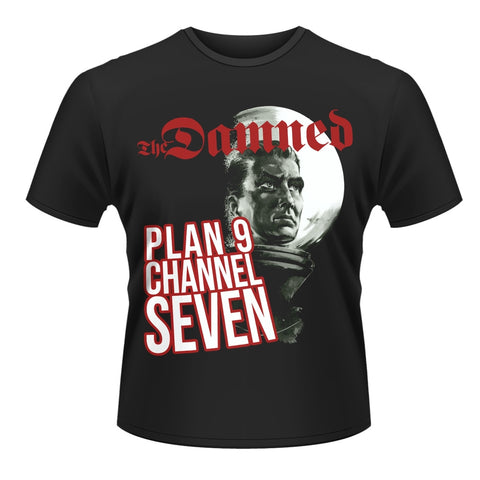PLAN 9 CHANNEL 7 T-SHIRT DAMNED