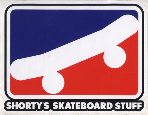 SHORTY'S STICKER SKATE ICON SMALL