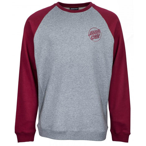 SANTA CRUZ OUTLINE CREW PORT/DARK HEATHER