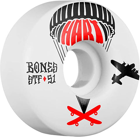 BONES HART DROP BOARDS STF V1 51MM