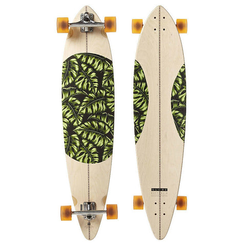 "GLOBE MONSTERA PINTAIL 44"" COMPLETE NATURAL MONSTERA - Skateboards Amsterdam"