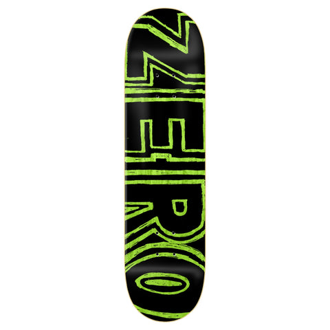 ZERO HAND DRAWN BOLD HYBRID BLACK/GREEN 8.0