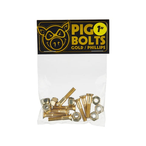 "PIG GOLD 1"" PHILLIPS HARDWARE"