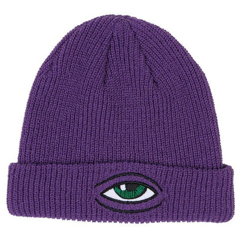 TOY MACHINE SECT EYE DOCK BEANIE PURPLE - Skateboards Amsterdam