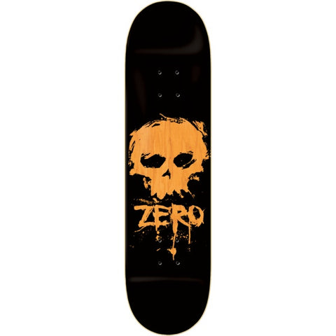 ZERO BLOOD SKULL BLACK/ORANGE 8.25