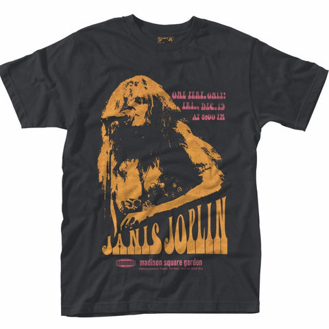 JANIS JOPLIN MADISON POSTER T-SHIRT