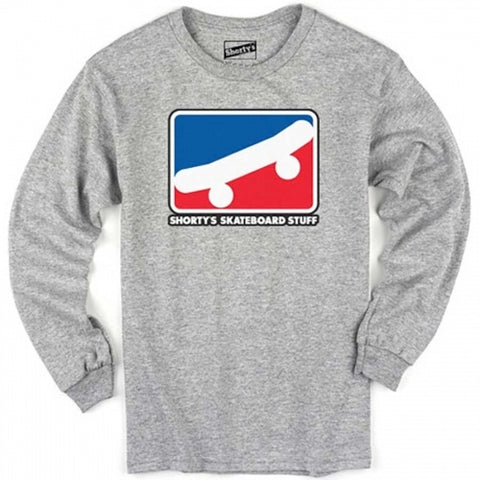 SHORTYS SKATE ICON LONG SLEEVE GREY