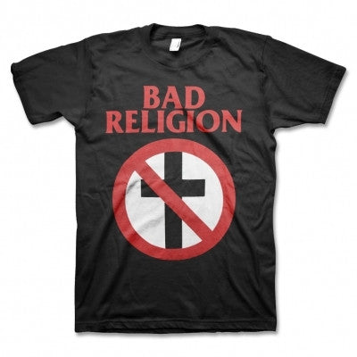 BAD RELIGION CROSS BUSTER T-SHIRT BLACK - Skateboards Amsterdam
