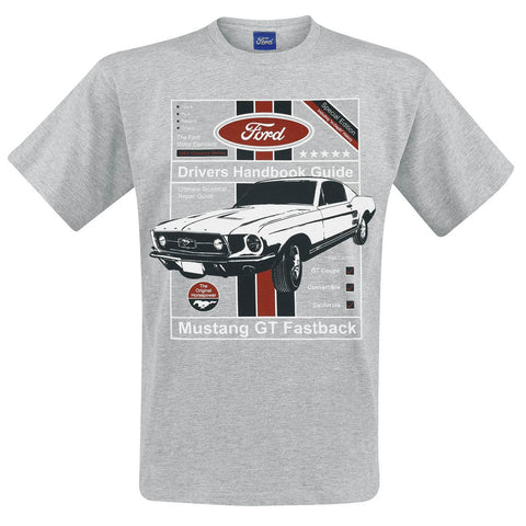 FORD DRIVERS HANDBOOK GUIDE T-SHIRT