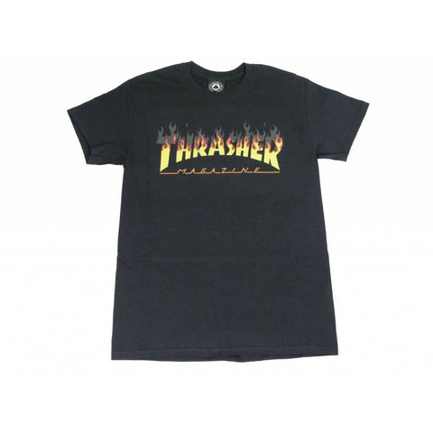THRASHER BBQ T-SHIRT BLACK