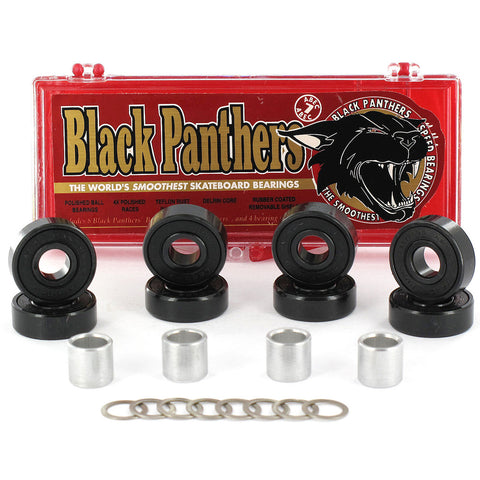 BLACK PANTHERS ABEC 7 - Skateboards Amsterdam
