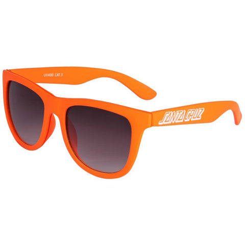 SANTA CRUZ CLASSIC STRIP SUNGLASSES CORAL