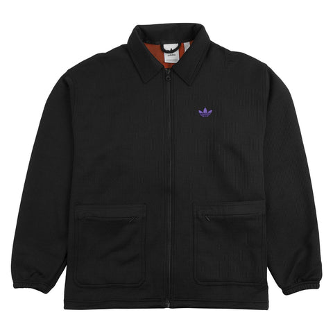 ADIDAS UTILITY JACKET BLACK/PURPLE