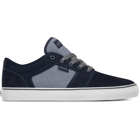 ETNIES BARGE LS NAVY/HEATHER
