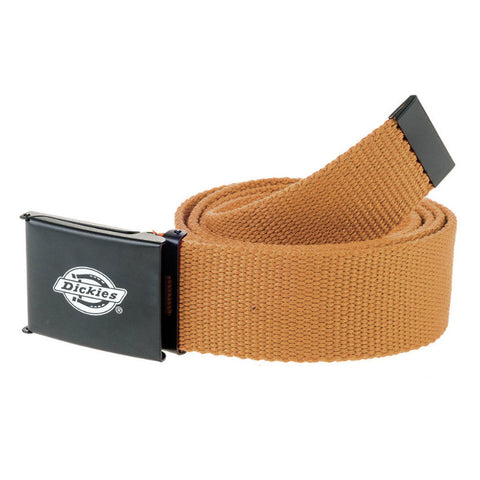 DICKIES ORCUTT WEB BELT BROWN DUCK - Skateboards Amsterdam