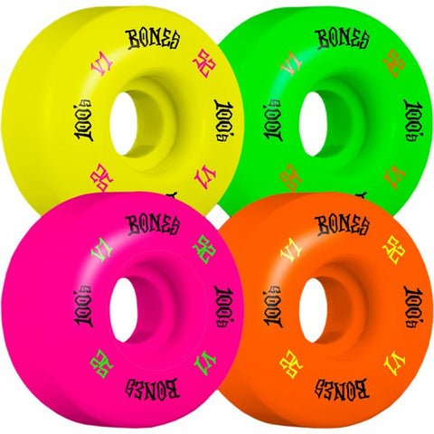 BONES 100S V1 PARTY PACK 52MM
