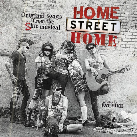 NoFX And Friends-Home Street Home - Skateboards Amsterdam