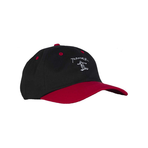 THRASHER GONZ OLD TIMER HAT BLACK/RED