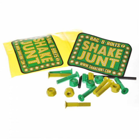 SHAKE JUNT ALL GREEN/YELLOW 1 INCH PHILLIPS HEAD
