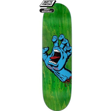 SANTA CRUZ SCREAMING HAND GREEN 8.8